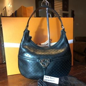 Gucci leather hobo